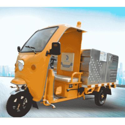 小型500L带棚多场合作业电动高压清洗车