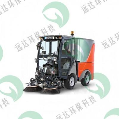 电动小型优质四轮哈高扫路车垃圾清理清扫车