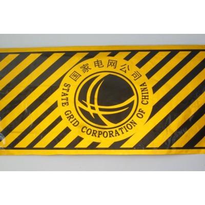 供应电线杆防撞反光贴 黑黄反光贴 红白反光贴