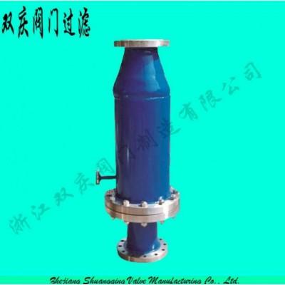 浙江双庆氧气管道专用过滤器气体过滤器