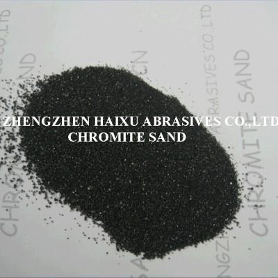 南非进口优质一级铬矿砂40-70 50-100目铬铁矿砂