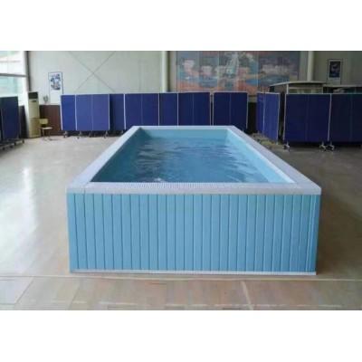 河南省新县游泳馆钢结构拆装游泳池