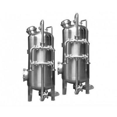 中水回用设备前置多袋式过滤器 可大量去除悬浮物胶状物质