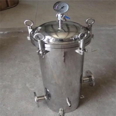 直销牛奶果汁矿泉水前置处理器 高精度袋式过滤器