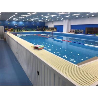 河南省汝南县游泳馆钢结构拆装游泳池