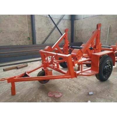 内宽2米大型10吨六轮型电缆炮车 可根据线盘尺寸定做