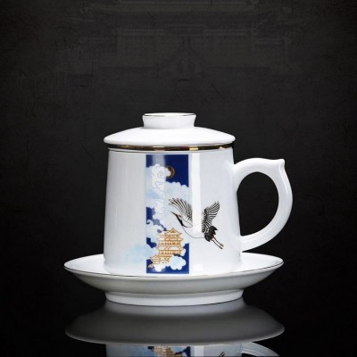 定做旅游纪念品陶瓷厂家,旅游纪念礼品陶瓷茶杯定制
