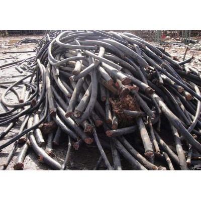 花都区赤坭工地闲置五芯铜线电缆收购价格多少