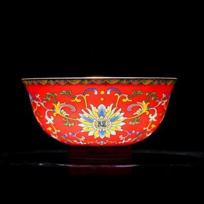 寿宴回礼寿碗,百岁馈赠礼品寿碗定制logo