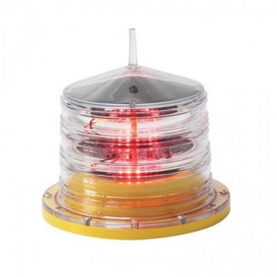 厂家直销太阳能海上航标灯 烟囱信号灯高空障碍灯 高楼航空灯