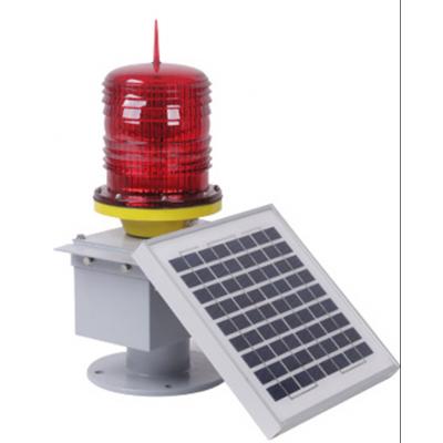 厂家直销中光强太阳能障碍灯 GPS同步闪太阳能应急航空警示灯