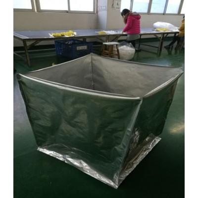 四方形铝箔袋 机器出口抽真空打包铝箔袋定做 机器包装袋