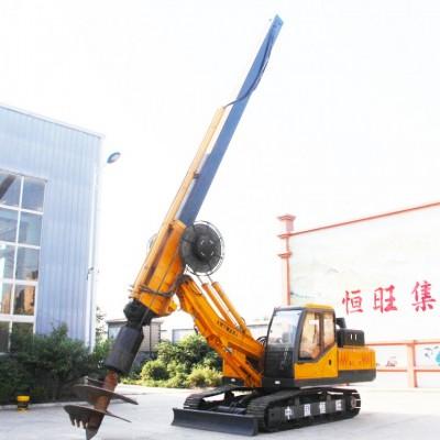 厂家直供地基打桩机 履带旋挖打桩机