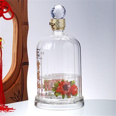 高硼硅玻璃工艺白酒瓶源头生产厂家