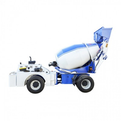 3方自动上料搅拌运输车 水泥搅拌罐车 混凝土搅拌机