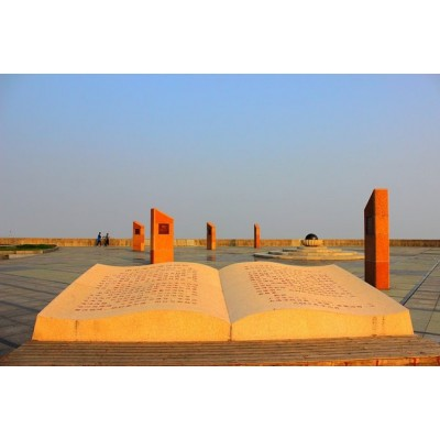 青海校园主题对开书本雕塑 铜雕刻字书籍文化景观小品
