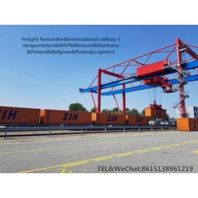 中国到德国的铁路运输 集装箱整柜散货进出口货运