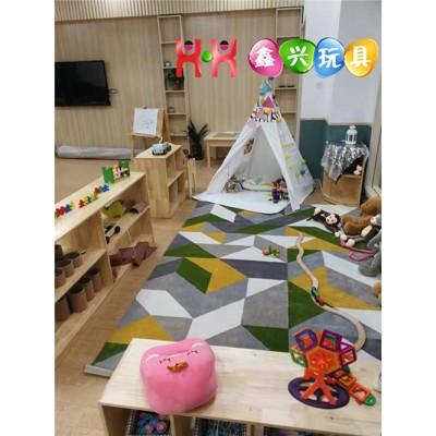 郑州儿童家具批发,区角柜定制,幼儿桌椅厂家