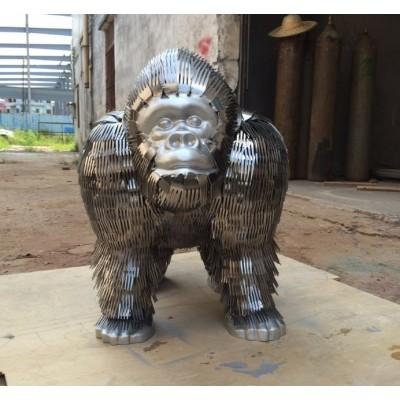 天津仿动物猩猩雕塑 金刚影视作品定制