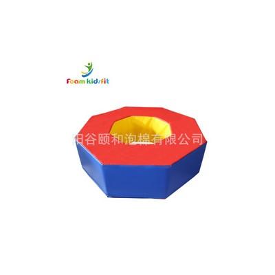 八角型圈垫 幼教儿童感统训练软包玩具垫工厂定制