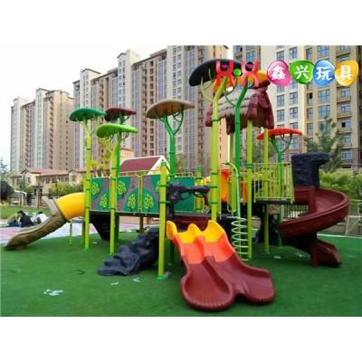 郑州幼儿园秋千滑梯组合,户外滑梯厂家