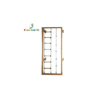 木制肋木架网梯 多功能组合架 运动感统训练攀爬架