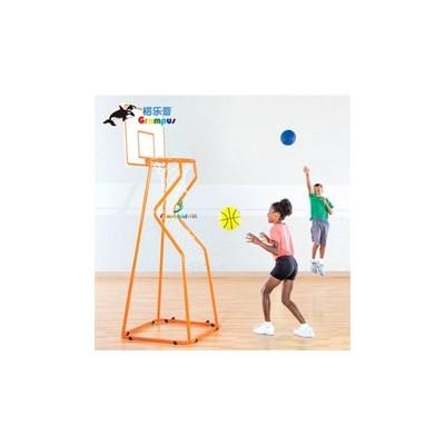 台湾格乐普轨道返回篮球架 幼儿早教儿童球框投篮框体育体能器材