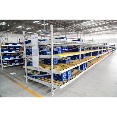 苏州鑫辉滑移式货架生产厂家 流利条货架生产批发