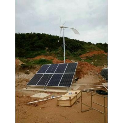 家庭用永磁2KW24V48V风力发电机组足功率发电
