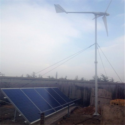 小型风力发电机家庭用屋顶装风光互补发电系统