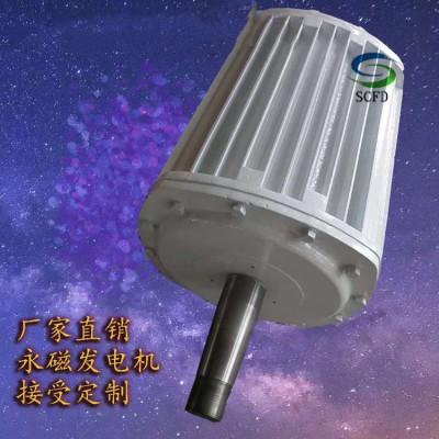 创新研发新型水力永磁发电机低转速运转发电