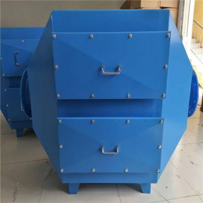 山西长治小型活性炭吸附塔/废气吸附净化装置/碳钢废气处理塔