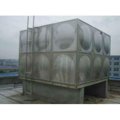 不锈钢水箱 消防水箱 不锈钢保温水塔水箱 保温水箱加工