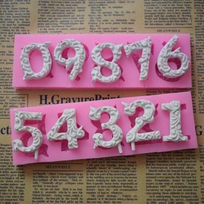 手工蜡烛模具硅胶蜡烛工艺品模具数字蜡烛字母蜡烛深圳指南针硅胶