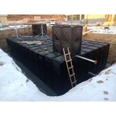 河北环保水箱直销 富利不锈钢玻璃钢地埋搪瓷镀锌水箱 饮用水箱