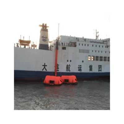 HYF-MES-VP-300海上舰艇紧急撤离系统 垂直型