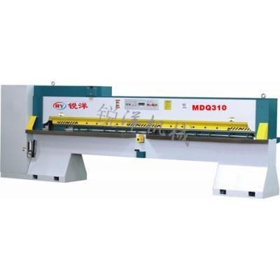 锐洋机械 MDQ310液压剪切机  木皮切皮机