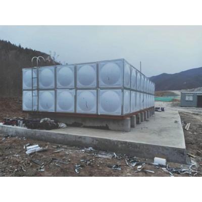河北环保水箱直销 丰信不锈钢玻璃钢地埋搪瓷镀锌水箱 饮用水箱