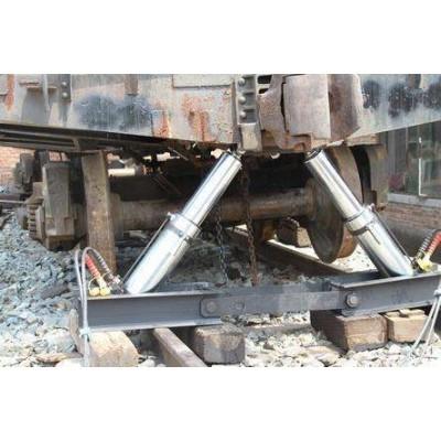 A-90型人字形复轨器液压式人字复轨器 矿车复轨器
