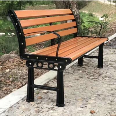 公园椅 户外休闲凉椅 H形休闲靠背椅