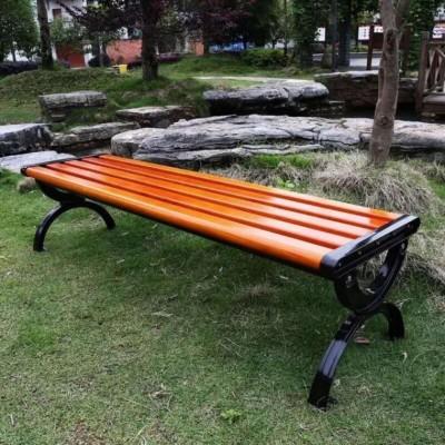公园椅 户外休闲凉椅 小八字休闲平凳