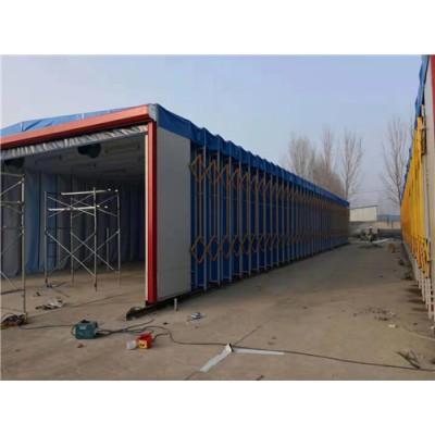 移动伸缩房环保设备移动喷烤房催化燃烧废气处理装置山东伟航
