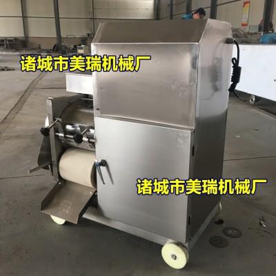 厂家直销鱼肉采肉机,小型鱼肉去刺机,鱼肉鱼骨分离机