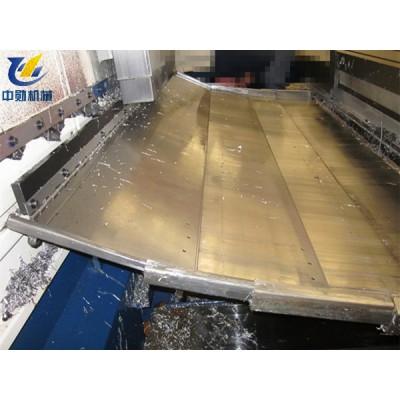 台捷机械850加工中心XYZ三轴钣金防护罩