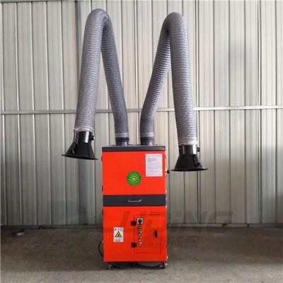 大同移动式焊烟净化处理装置轻松满足两个焊工使用