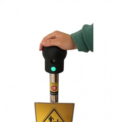 防爆触摸式人体静电释放器防爆静电消除仪声光语音报警释放装置