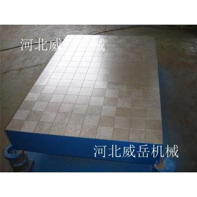 山东 刨床加工 铸铁底板 铸铁试验平台  质量保证