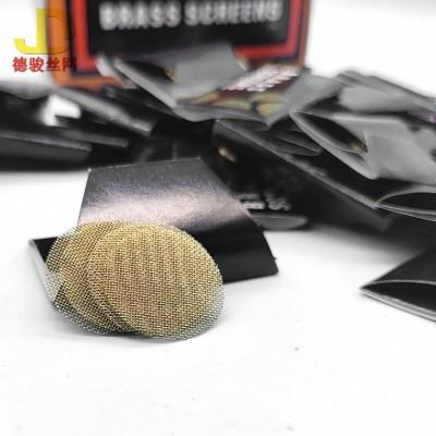 现货 不锈钢过滤网片 烟斗过滤网片304材质过滤片 纯铜网片