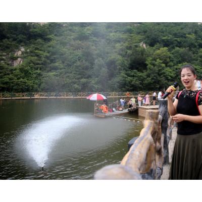 黄埔呐喊喷泉是一款水上游乐设备山东三喜