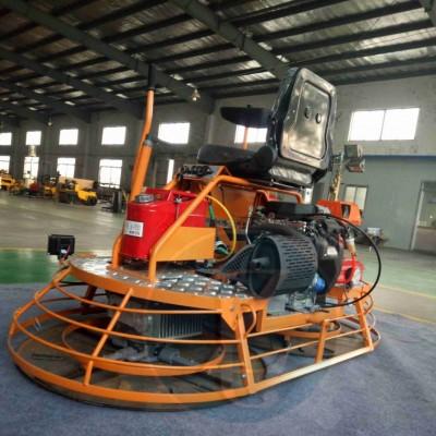 混凝土座驾式磨光机 驾驶式双圆盘抹平机操作方法驾驶型水泥抹子